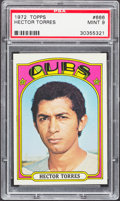 Baseball Cards:Singles (1970-Now), 1972 Topps Hector Torres #666 PSA Mint 9....