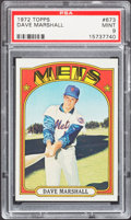 Baseball Cards:Singles (1970-Now), 1972 Topps Dave Marshall #673 PSA Mint 9....
