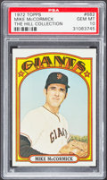 Baseball Cards:Singles (1970-Now), 1972 Topps Mike McCormick #682 PSA Gem Mint 10 - Pop Two. ...
