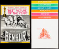 "Movie Posters:Academy Award Winners, Ben-Hur (MGM, 1960). Uncut Exhibitor Book (15.25"" X 19.5""). Academy Award Winners.. ..."