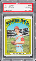 Baseball Cards:Singles (1970-Now), 1972 Topps Joe Horlen #685 PSA Gem Mint 10....