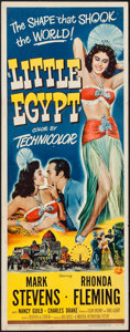 """Movie Posters:Comedy, Little Egypt (Universal International, 1951). Insert (14"""" X 36"""").Comedy.. ..."""