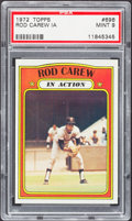 Baseball Cards:Singles (1970-Now), 1972 Topps Rod Carew IA #696 PSA Mint 9....
