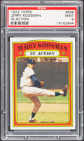 Baseball Cards:Singles (1970-Now), 1972 Topps Jerry Koosman IA #698 PSA Mint 9....