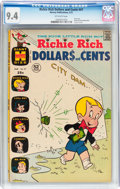 Bronze Age (1970-1979):Humor, Richie Rich Dollars and Cents #47 (Harvey, 1972) CGC NM 9.4Off-white pages....