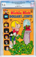 Bronze Age (1970-1979):Cartoon Character, Richie Rich Dollars and Cents #54 (Harvey, 1973) CGC NM+ 9.6Off-white pages....