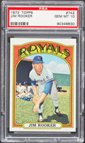 Baseball Cards:Singles (1970-Now), 1972 Topps Jim Rooker #742 PSA Gem Mint 10....