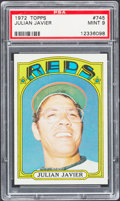 Baseball Cards:Singles (1970-Now), 1972 Topps Julian Javier #745 PSA Mint 9....