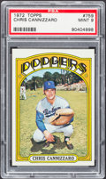 Baseball Cards:Singles (1970-Now), 1972 Topps Chris Cannizzaro #759 PSA Mint 9....