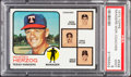 Baseball Cards:Singles (1970-Now), 1973 Topps Rangers Mgr/coaches #549 PSA Mint 9....