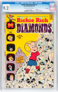Bronze Age (1970-1979):Humor, Richie Rich Diamonds #1 File Copy (Harvey, 1972) CGC NM- 9.2Off-white to white pages....