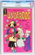 Bronze Age (1970-1979):Cartoon Character, Underdog #5 File Copy (Gold Key, 1976) CGC NM 9.4 Off-white towhite pages....