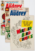Silver Age (1956-1969):Humor, Playful Little Audrey Near Complete Run File Copy Short Box Group (Harvey, 1958-76) Condition: Average NM-....