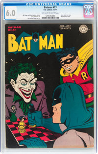 Batman #23 (DC, 1944) CGC FN 6.0 Off-white to white pages