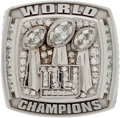 Football Collectibles:Others, 2007 New York Giants Super Bowl XLII Championship Ring....