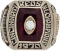 Baseball Collectibles:Others, 1970 Cincinnati Reds National League Championship Ring Presented toPete Rose....