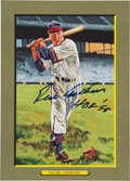 Baseball Cards:Singles (1970-Now), 1997 Perez-Steele Great Moments #98 Richie Ashburn Signed Card....