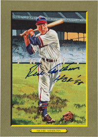 1997 Perez-Steele Great Moments #98 Richie Ashburn Signed Card