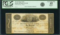 Obsoletes By State:Rhode Island, Bristol, RI - Mount Hope Bank $100 182_ RI-45 G20, Durand 171. Proof. PCGS Extremely Fine 45 Apparent.. ...
