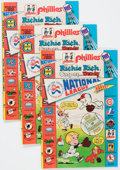 Bronze Age (1970-1979):Cartoon Character, Richie Rich, Casper and Wendy National League #1 File Copies BoxLot (Harvey, 1976) Condition: Average VF/NM....