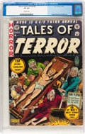 Golden Age (1938-1955):Horror, Tales of Terror Annual #3 (EC, 1953) CGC VF 8.0 Off-white pages....