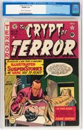 Golden Age (1938-1955):Horror, Crypt of Terror #18 (EC, 1950) CGC VG/FN 5.0 Cream to off-whitepages....