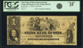 Obsoletes By State:Ohio, Cadiz, OH - State Bank of Ohio, Harrison Branch $1 Dec. 4, 1856Contemporary Counterfeit OH-5 C152, Wolka 0252-05. PCGS Very F...
