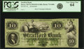 Obsoletes By State:New Hampshire, Dover, NH - Strafford Bank $10 18__ NH-75 G60b. Remainder. PCGS Very Choice New 64.. ...