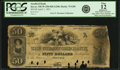 Obsoletes By State:New Hampshire, Dover, NH - Strafford Bank $50 April, 1, 1851 NH-75 G84 SENC. PCGS Fine 12 Apparent.. ...