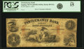 Obsoletes By State:New Hampshire, Epping, NH - Pawtuckaway Bank $1 April 2, 1855 NH-80 G2a. PCGS Fine 15.. ...