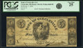Obsoletes By State:Ohio, Circleville, OH - Bank of Circleville (1st) $5 Jan. 7, 1854 OH-130G8, Wolka 0668-08. PCGS Very Fine 25.. ...