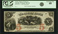 Obsoletes By State:Tennessee, Nashville, TN - Traders Bank of Tennessee $5 October 1, 1855 TN-200 G4b, Garland 1020. Remainder. PCGS Extremely Fine 40.. ...