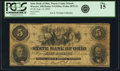 Obsoletes By State:Ohio, Wooster, OH - State Bank of Ohio, Wayne County Branch $5 Aug. 14,1860 OH-5 G1596a SENC, Wolka 2870-22. PCGS Fine 15.. ...