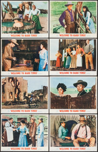 "Welcome to Hard Times & Other Lot (MGM, 1967). Lobby Card Set of 8 & Lobby Cards (4) (11"" X 14""). West..."