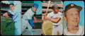 Autographs:Bats, 1971 Topps Super Signed Cards Lot of 4....