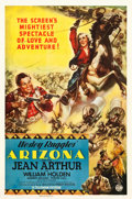 "Movie Posters:Western, Arizona (Columbia, 1940). One Sheet (27.25"" X 41"") Style A.. ..."