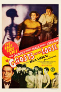 "Movie Posters:Comedy, Ghosts on the Loose (Monogram, 1943). One Sheet (27"" X 41"").. ..."