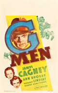 """Movie Posters:Crime, G-Men (First National, 1935). Window Card (14"""" X 22"""").. ..."""