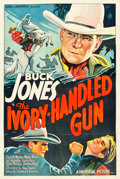 """Movie Posters:Western, The Ivory-Handled Gun (Universal, 1935). One Sheet (27"""" X 41"""").. ..."""