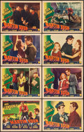 """Movie Posters:Adventure, The Adventures of Martin Eden (Columbia, 1942). Lobby Card Set of 8(11"""" X 14""""). Adventure.. ... (Total: 8 Items)"""