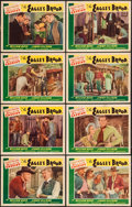 """Movie Posters:Western, The Eagle's Brood (Goodwill Productions, R-1946). Lobby Card Set of 8 (11"""" X 14""""). Western.. ... (Total: 8 Items)"""