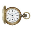 Timepieces:Pocket (post 1900), Swiss Fancy Engraved Hunter's Case Pocket Watches. ...
