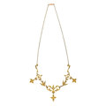 Estate Jewelry:Necklaces, Seed Pearl, Gold Necklace. ...