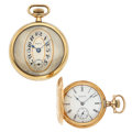 Timepieces:Pocket (post 1900), Stratford & Elgin Pocket Watches Runners. ... (Total: 2 Items)