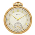 Timepieces:Pocket (post 1900), Swiss 17 Jewels Open Face Pocket Watch. ...