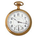Timepieces:Pocket (post 1900), Illinois 21 Jewels A. Lincoln Open Face Pocket Watch. ...