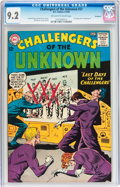 Silver Age (1956-1969):Adventure, Challengers of the Unknown #37 Savannah pedigree (DC, 1964) CGC NM- 9.2 Off-white to white pages....