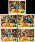 """Movie Posters:Comedy, The Princess and the Pirate (RKO, 1944). Lobby Cards (5) (11"""" X 14""""). Comedy.. ... (Total: 5 Items)"""