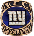 Football Collectibles:Others, 2000 New York Giants NFC Championship Ring....