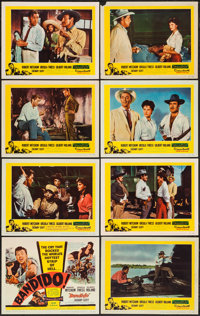"Bandido & Other Lot (United Artists, 1956). Lobby Card Sets of 8 (2) (11"" X 14""). Action. ... (Total:..."